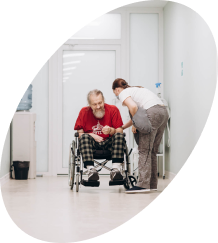 Изображение пациента в больнице